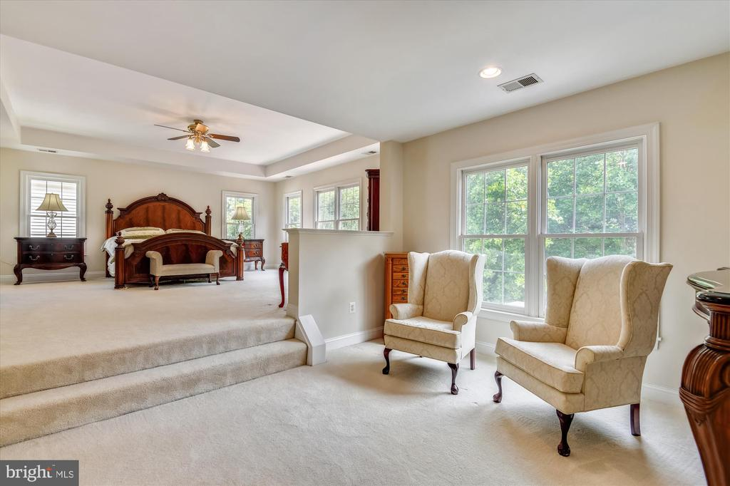 Master Bedroom w/Sitting Area & Custom Wardrobe - 8043 WINSTEAD MANOR LN, LORTON