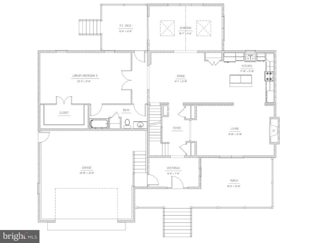 Wonderful master bedroom or in-law suite - 3908 WOODLEY DR, ALEXANDRIA
