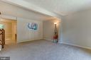 Walk into the large family room - 3594 WHARF LN, TRIANGLE