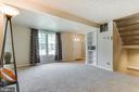 Family room with built-ins - 3594 WHARF LN, TRIANGLE