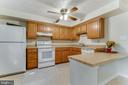 Open kitchen concept - 3594 WHARF LN, TRIANGLE
