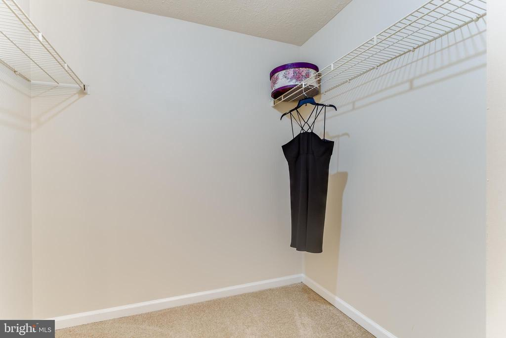Walk-in Closet - 3594 WHARF LN, TRIANGLE