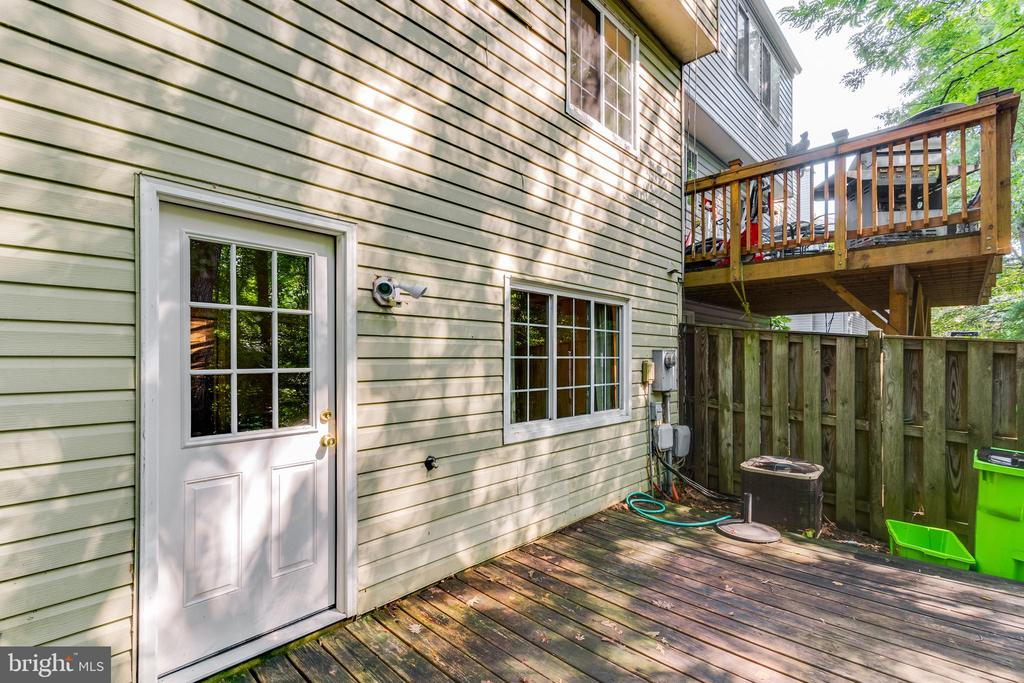 New back door (2021) - 3594 WHARF LN, TRIANGLE