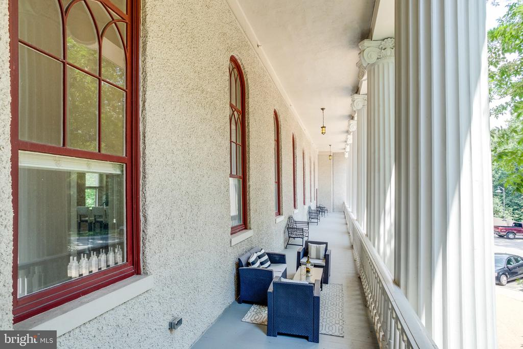 The private terrace is 800 sq ft! - 2829 SACKS ST #MH201, SILVER SPRING