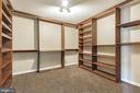 Huge walk-in closet - 135 BRUSH EVERARD CT, STAFFORD