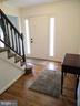 Foyer from Kitchen - 13600 BRIDGELAND LN, CLIFTON