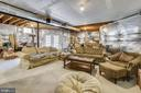 Unfinished basement with rough in - 17451 LETHRIDGE CIR, ROUND HILL