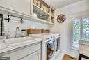laundry room - 12704 CHAPEL RD, CLIFTON