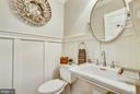 half bath on main level - 12704 CHAPEL RD, CLIFTON