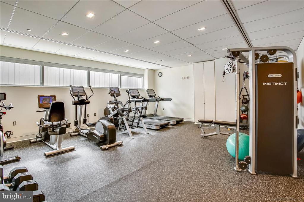 Fitness center - 1177 22ND ST NW #4M, WASHINGTON