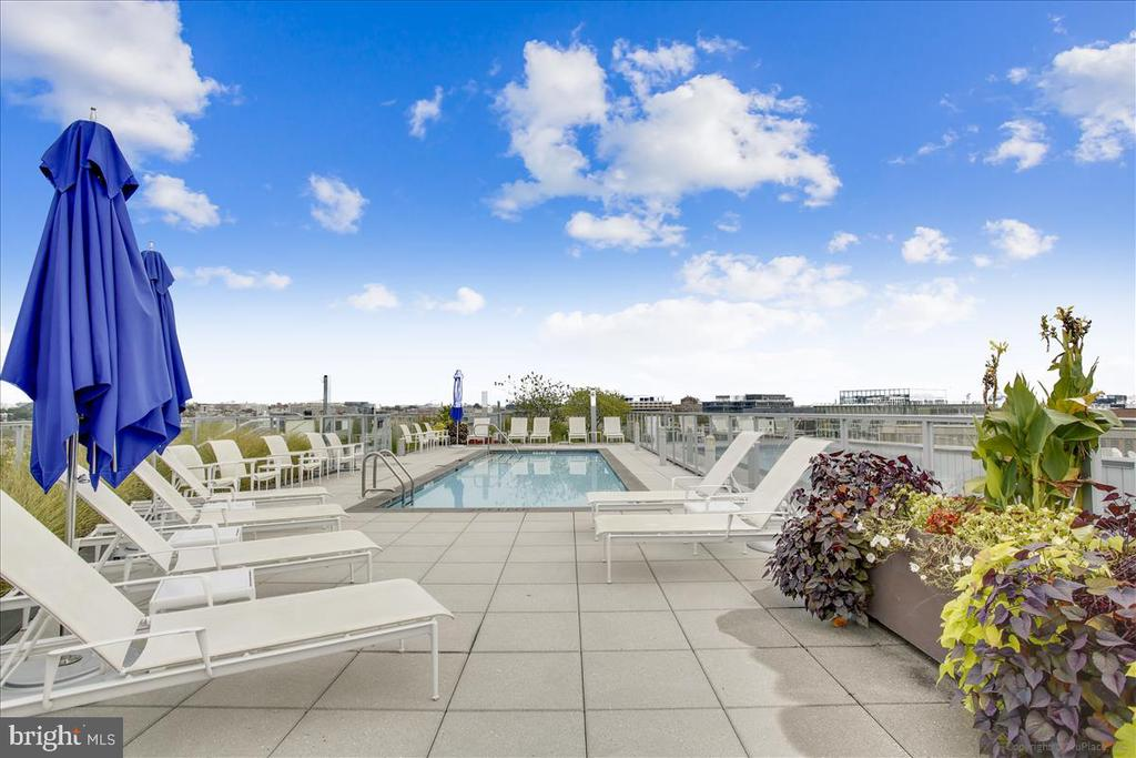 Rooftop pool deck - 1177 22ND ST NW #4M, WASHINGTON