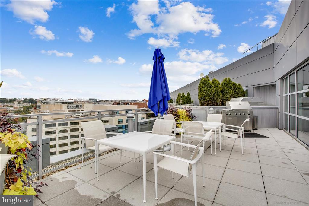 Rooftop dining terrace and grill - 1177 22ND ST NW #4M, WASHINGTON