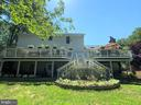 Full Home Width Deck - 8104 FLOSSIE LN, CLIFTON