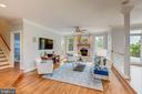 living room /study - 22606 HILLSIDE CIR, LEESBURG