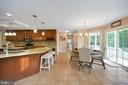 Plenty of room for everyone in the kitchen - 13701 AVALON RIVER DR, FREDERICKSBURG
