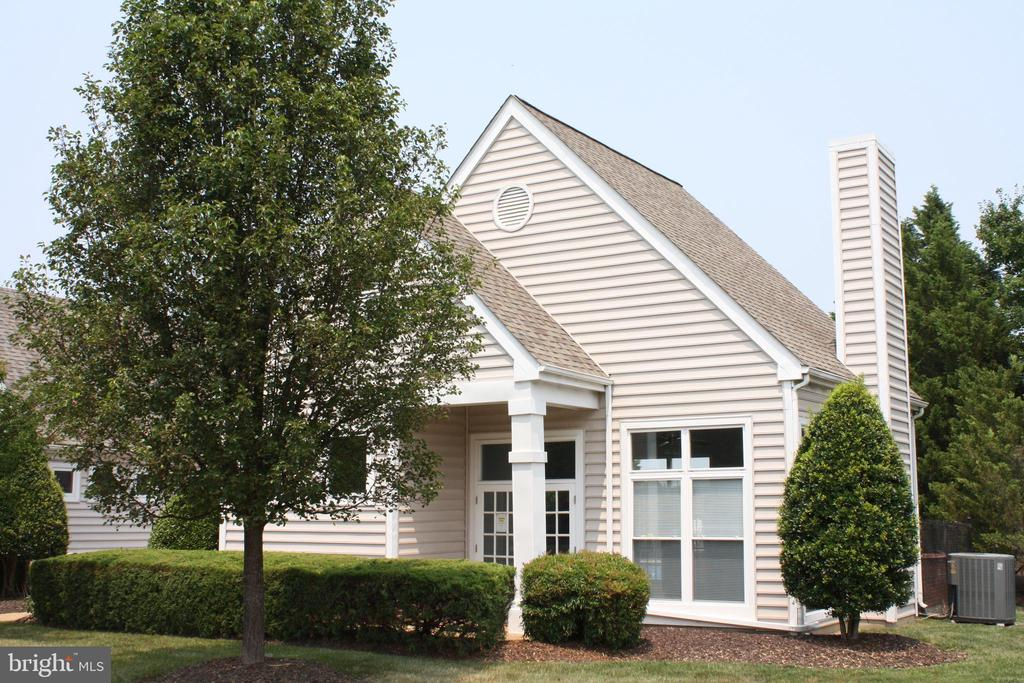 The community clubhouse is close by - 12236 LADYMEADE CT #5-201, WOODBRIDGE
