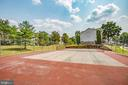 Community tennis court  for fun and exercise - 12236 LADYMEADE CT #5-201, WOODBRIDGE