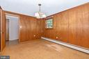 This room opens to the patio - 703 WYNGATE DR, FREDERICK