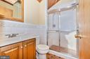Updated hall bath on the upper level - 703 WYNGATE DR, FREDERICK