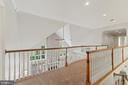 Open hallway over living area - 55 AZTEC DR, STAFFORD