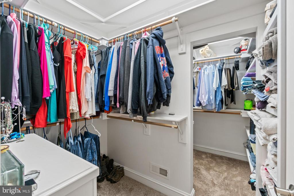 Huge double walk in closet in the Primary suite - 55 AZTEC DR, STAFFORD