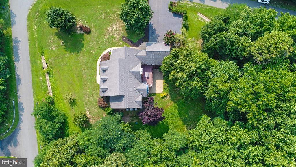 Aerial View of the Home - 55 AZTEC DR, STAFFORD