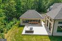 Bird's Eye View of the Outdoor Living Spaces - 22436 MADISON HILL PL, LEESBURG