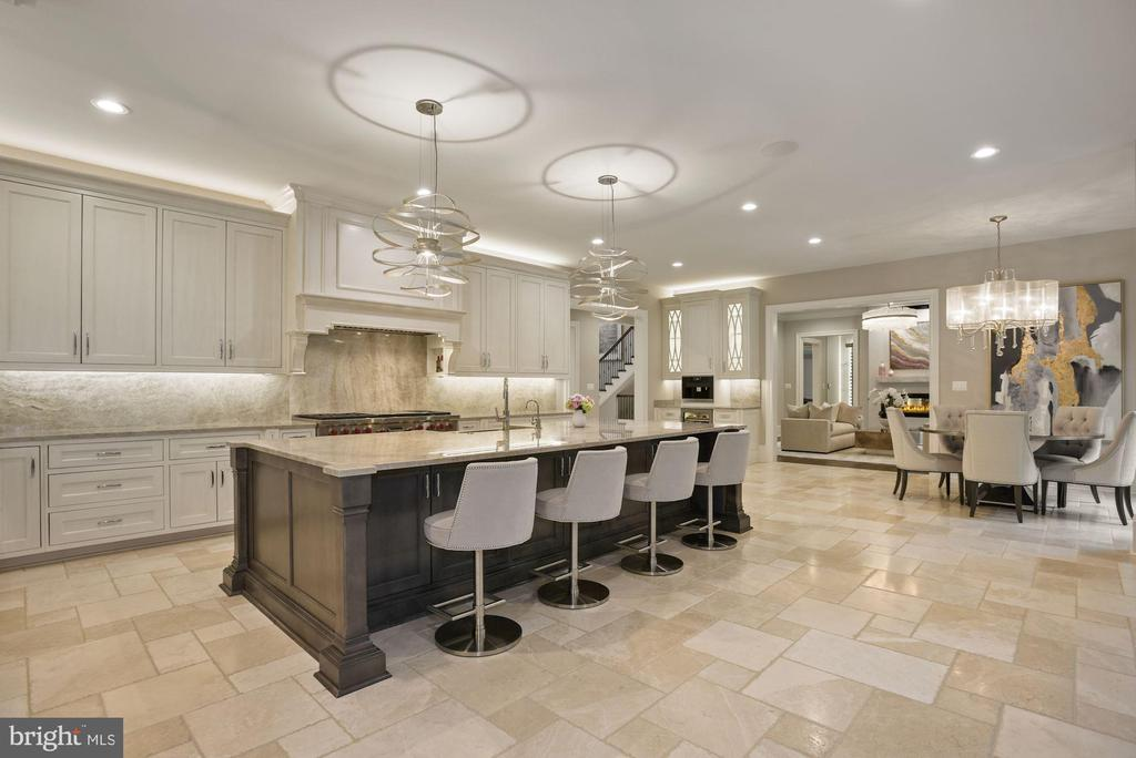 Gourmet Kitchen and Breakfast Room - 22436 MADISON HILL PL, LEESBURG