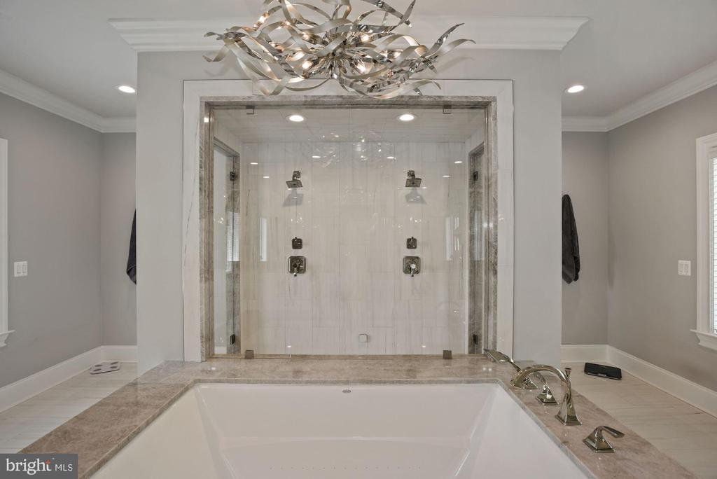 Owner's En Suite Bath with Lavish Spa Tub - 22436 MADISON HILL PL, LEESBURG