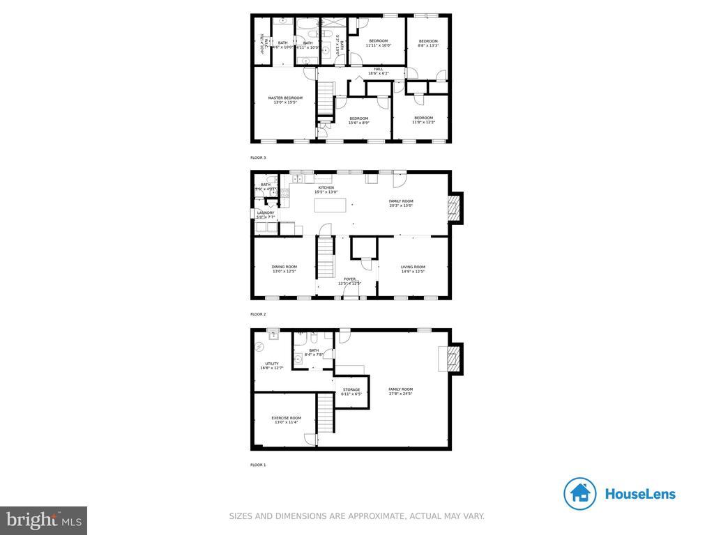 House Floor Plan - 4821 REGIMENT CT, WOODBRIDGE