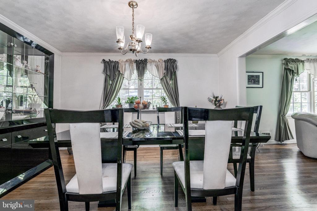 Formal Separate Dining Room - 408 BEAUMONT RD, SILVER SPRING