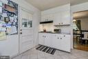 Kitchen With Eat In - 408 BEAUMONT RD, SILVER SPRING