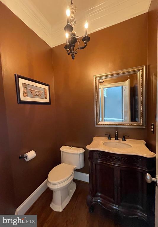 Powder Room - 16344 LIMESTONE CT, LEESBURG
