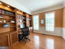 Main Level Bedroom/Study/Office - 16344 LIMESTONE CT, LEESBURG