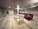 Home Theater - Second Row Seating Conveys - 16344 LIMESTONE CT, LEESBURG