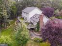 Rear Aerial View - 8104 FLOSSIE LN, CLIFTON