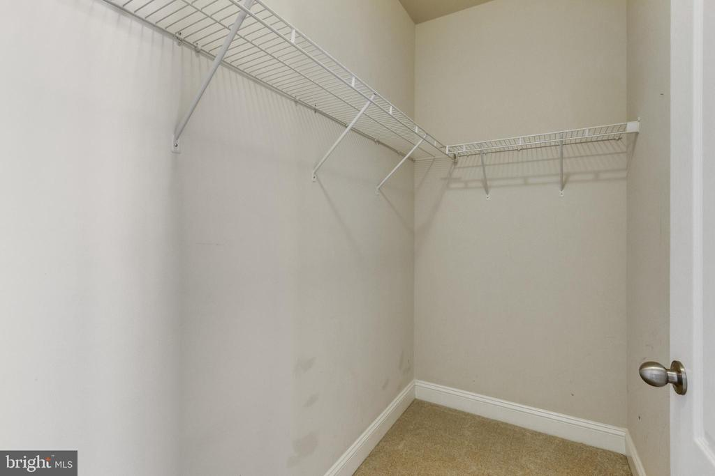 Master Suite has 2 Walk-In Closets - 4807 POTOMAC HIGHLANDS CIR, TRIANGLE