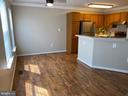 Dining Area - New Vinyl Plank flooring - 7960 CALVARY CT #138, MANASSAS