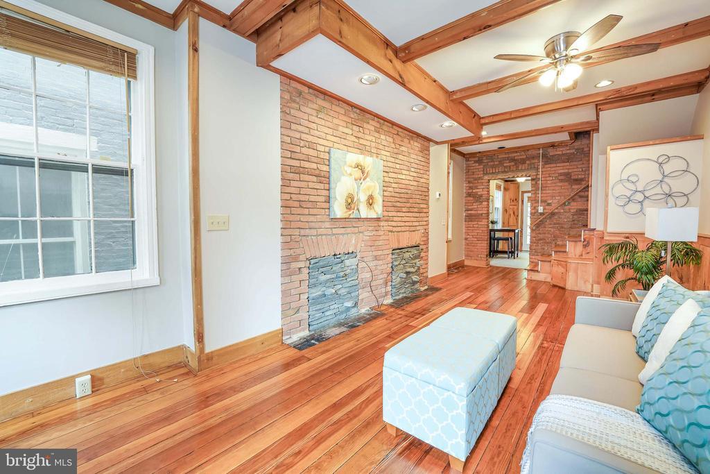 Refinished Hardwood Floors - 21 E SOUTH ST, FREDERICK
