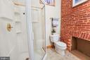 Full Bath w/Large Shower - 21 E SOUTH ST, FREDERICK