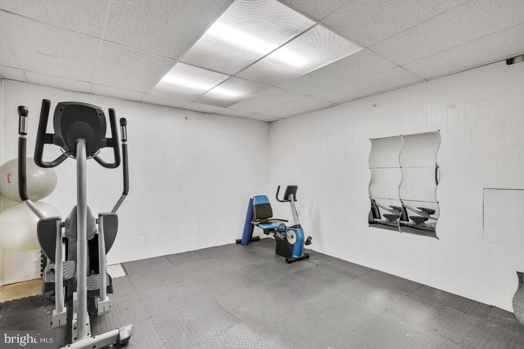 Home Gym - 6809 CLIFTON GROVE CT, CLIFTON