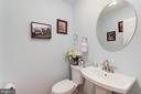 Main Level Powder Room - 8104 FLOSSIE LN, CLIFTON