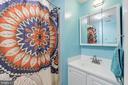 Lower Level Full Bathroom - 8104 FLOSSIE LN, CLIFTON