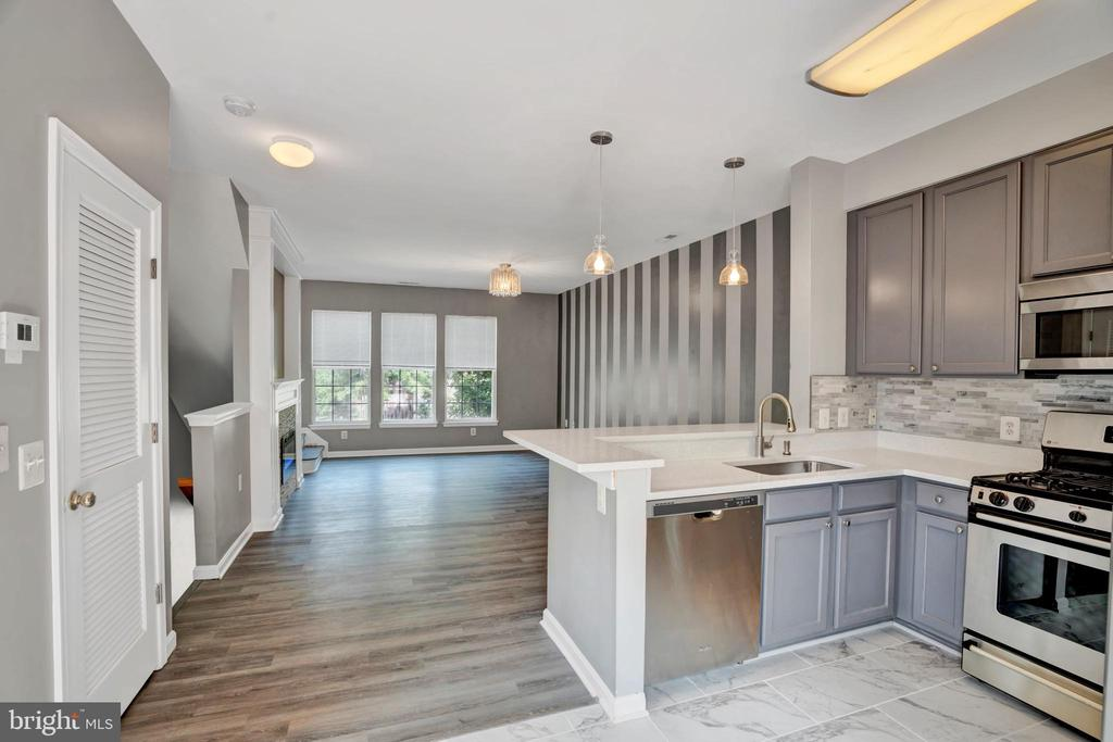 Spacious Kitchen/Family Room Area! - 23114 BLACKTHORN SQ, STERLING