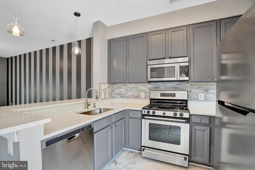 Updated Kitchen with Stainless Steel Appliances! - 23114 BLACKTHORN SQ, STERLING