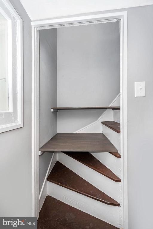 Removable shelving creates extra pantry space - 123 W 5TH ST, FREDERICK