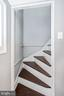 OR...rear staircase to primary bathroom/bedroom - 123 W 5TH ST, FREDERICK