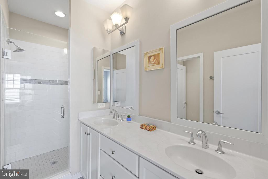 Primary bathroom - 256 BLUEMONT BRANCH TER SE, LEESBURG