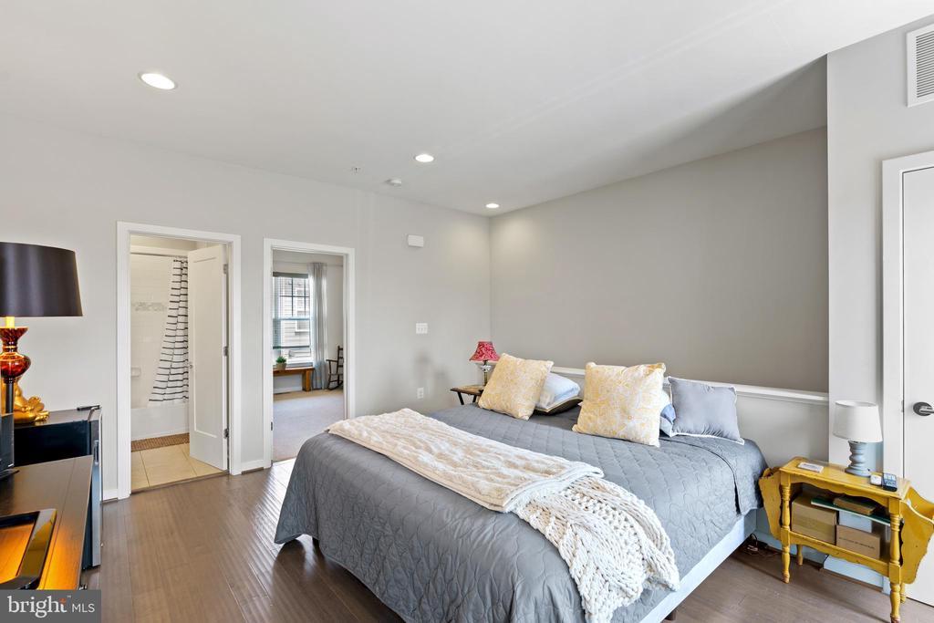 4th left loft currently set up as Primary bedroom - 256 BLUEMONT BRANCH TER SE, LEESBURG