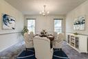 Dining Room - 7255 KINDLER RD, COLUMBIA